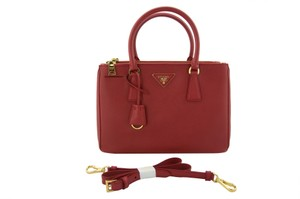 Prada Tote in Fire (Red)