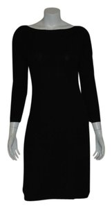 Ralph Lauren short dress BLACK Cashmere Sweater Cable Knit on Tradesy