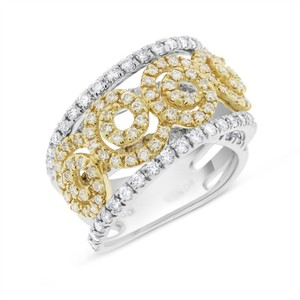 Sonia Bitton 2.20 Ct. Sonia Bitton Natural Diamond Cocktail Ring in Solid 14k Two
