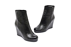 Prada Soft Leather Fall Spring Black Boots