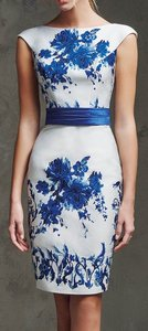 Pronovias Royal Blue Laira Dress