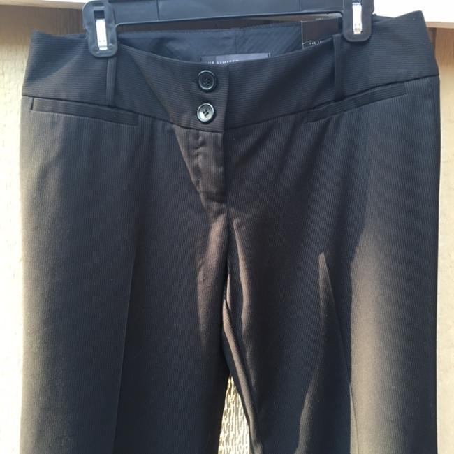 The Limited Flare Pants Black with pinstripes