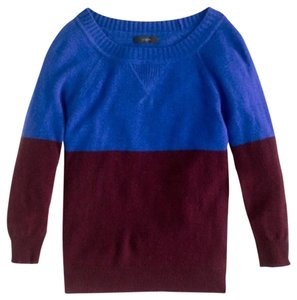 J.Crew Cashmere Color-blocking Sweater