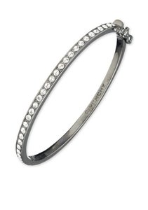 Givenchy Swarovski elements crystals Light Hematite Crystal Bangle