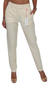 See by Chloé Chloe Made In Italy Ankle Length Chloe Chloe Trouser Pants Beige