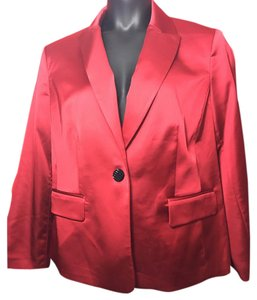 Nipon Boutique Red Blazer