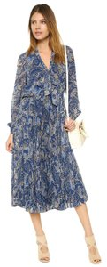 Blue Maxi Dress by Alice + Olivia Haute Hippie Dvf Tory Burch Elizabeth And James Zimmermann