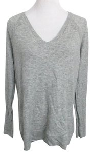 Gap Designed Crafted V Neck V Neck Wool Blend Sweater