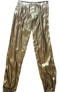 Lanvin Trouser Pants Gold