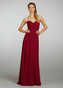 Jim Hjelm Occasions Bordeaux Style: 5464; Fabric: Chiffon; Color: Bordeaux Dress
