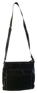 Liz Claiborne Faux Leather Cross Body Bag