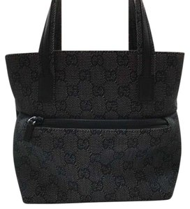 Gucci Tote in Gray and black