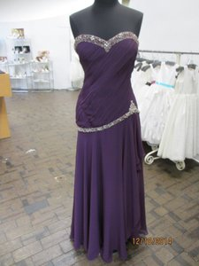Rina DiMontella WINE Rina Dimontella 1322 Wine Size 14 Mother Of The Bride/groom (mom-7) Dress