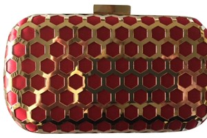 Inge Christopher Never Used Red Clutch