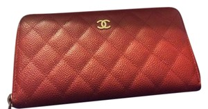 Chanel Chanel Zip Around Wallet