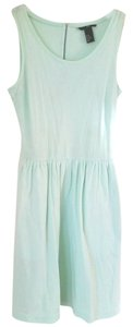 H&M short dress Mint Green Comfortable Cozy Cotton on Tradesy