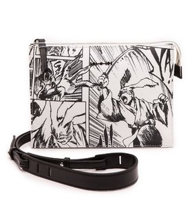 Alexander McQueen Mcqueen Art Comic Cross Body Bag