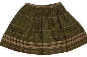 Diane von Furstenberg Skirt Dark Green