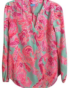 Lilly Pulitzer Top Love Birds