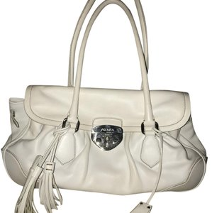 Prada Satchel in white