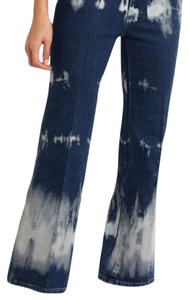 Stella McCartney Highrise Cropped Boot Cut Jeans