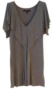 BCBGMAXAZRIA Bcbg Bcbg Grey Gray Top charcoal grey