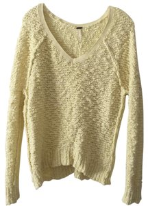 Free People Oversized V Neck Sweater