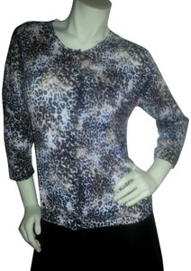 Nue by Shani Animal Print Sweater