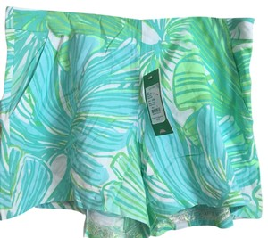 Lilly Pulitzer Dress Shorts Fronds Place