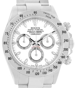 Rolex Rolex Cosmograph Daytona White Dial Chronograph Mens Watch 116520