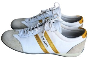 Prada white/Yellow Athletic