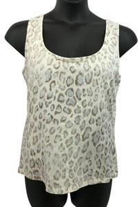 St. John Sport by Marie Gray St. Animal Print Top
