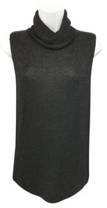 Ellen Tracy Linda Allard Black Knit Top