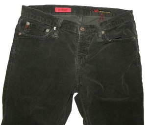 AG Adriano Goldschmied Corduroy Flare Boot Cut Pants Black