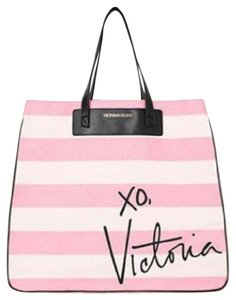 Victoria's Secret Tote in White/Pink