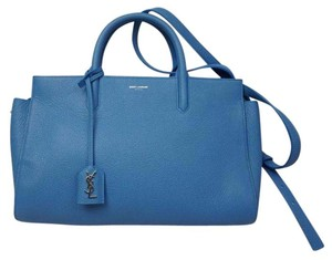 Saint Laurent Satchel in Light Blue