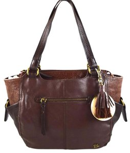 The Sak Tote in Brown