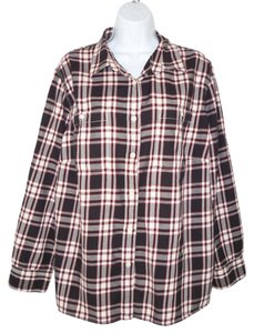 Ralph Lauren Plaid Flannel Cotton Button Down Shirt