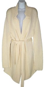 Eileen Fisher Cotton Heavy Chunky Long Cardigan