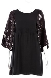 See by Chloé Chloe Silk Paillette Sequin Party Dress