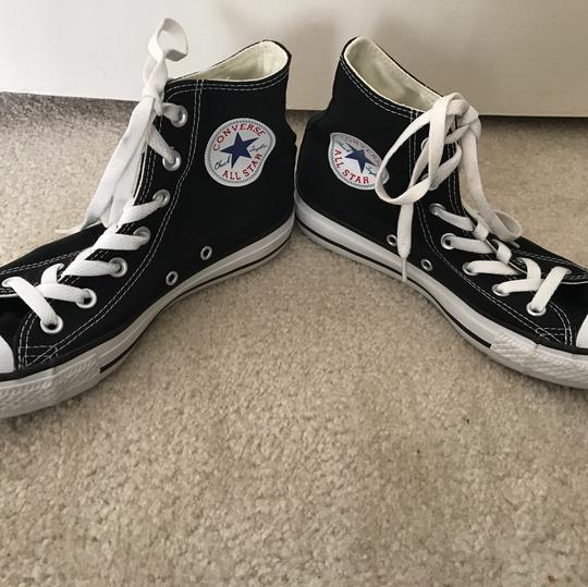 Converse Chuck Taylor Hightop Sneakers Black Athletic