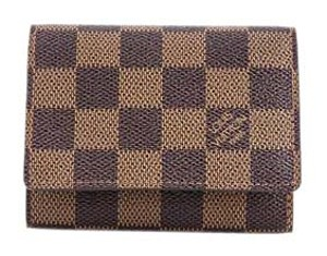 Louis Vuitton Damier Ebene Business Card Holder