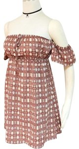 Honey Punch short dress brown on Tradesy