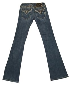 Miss Me Boot Cut Jeans-Dark Rinse