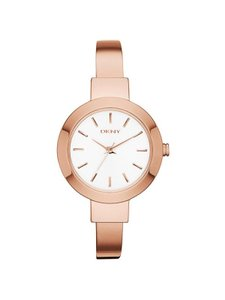 DKNY DKNY Women's Stanhope Rose Gold Tone Stainless Steel Watch NY2347