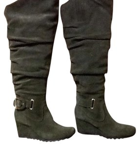 Earthies Green Boots