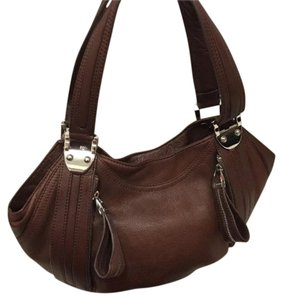 B. Makowsky Satchel in Brown