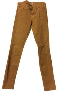 Current/Elliott Skinny Pants Tan/Camel