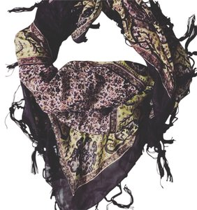 Urban Outfitters Large Square, Silk Scarf