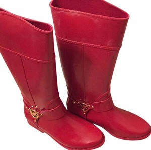 Michael Kors Red Boots